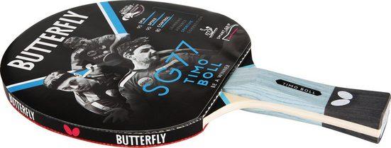 "Butterfly Tischtennisschläger »Timo Boll SG77«, Einzigartige Grifftechnologie ""smart.grip"""