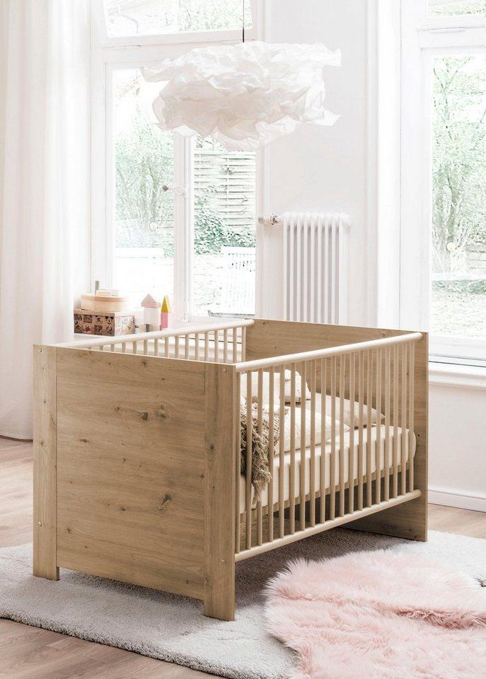 Babybett Umbaubar Zum Juniorbett : babybett borkum zum juniorbett umbaubar kaufen otto ~ Watch28wear.com Haus und Dekorationen