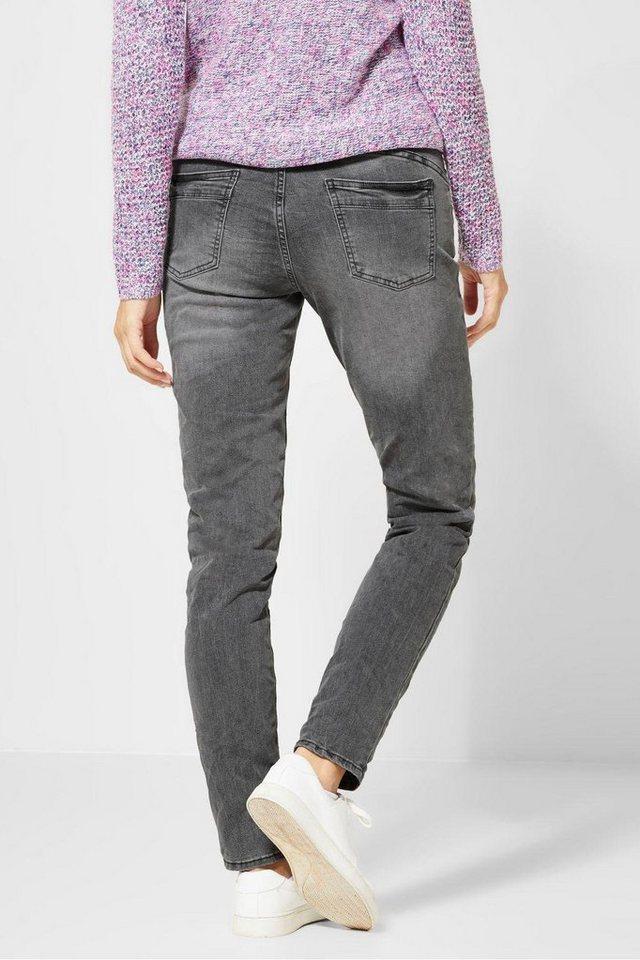 Schönheit moderate Kosten beliebte Marke Cecil Straight-Jeans »Scarlett« im Used Look | OTTO