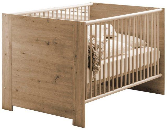 Babybetten - Babybett »Borkum«, zum Juniorbett umbaubar  - Onlineshop OTTO