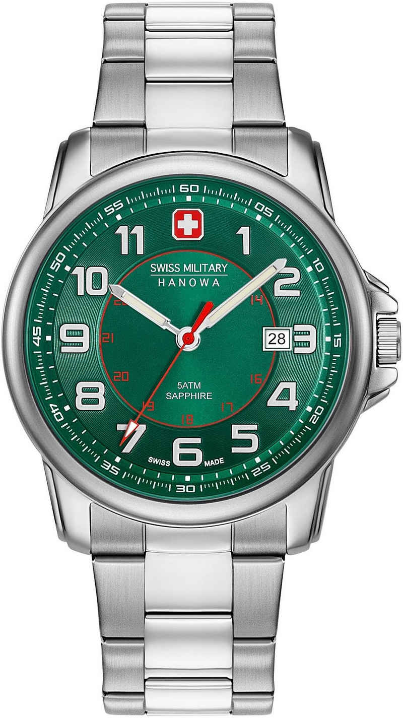 Swiss Military Hanowa Schweizer Uhr »SWISS GRENADIER, 06-5330.04.006«