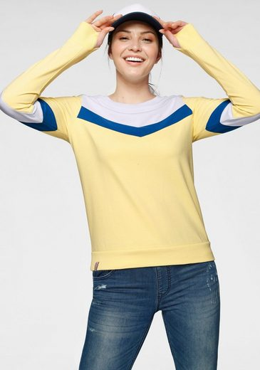 KangaROOS Sweatshirt in sportiv farbenfrohem Look