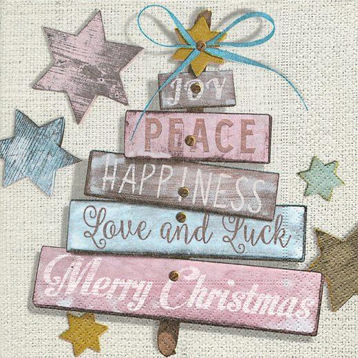 Serviette 'Christmas Wishes'