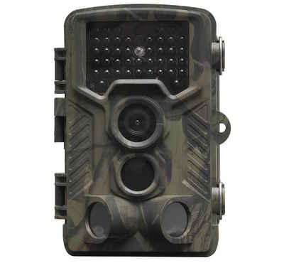 Denver »WCT-8010 Full-HD Wildkamera mit Bewegungssensor Display 12MP Tier Wild Überwachungskamera Futterkamera« Wildkamera (Außenbereich, Innenbereich, PIR Erfassungsabstand: 1-25 Meter, Auslösegeschwindigkeit 0,3 Sekunden, Standby-Zeit: bis zu 3 Monate)