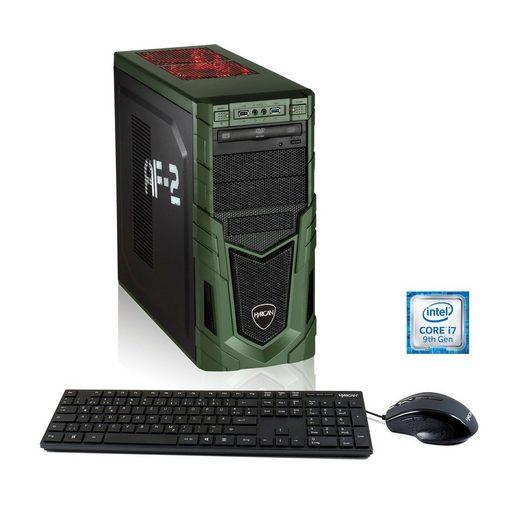 Hyrican Gaming PC i7-9700F, 16GB, 480GB SSD, 1TB HDD, RTX 2060 »Military Gaming 6437«
