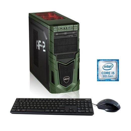 Hyrican Gaming PC i5-9400F 8GB RAM 240GB SSD 1TB HDD GTX 1650 »Military 6440«