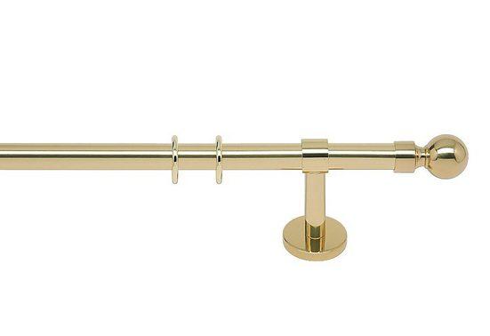 Gardinenstange »Sevilla 20«, indeko, Ø 20 mm, 1-läufig, Wunschmaßlänge