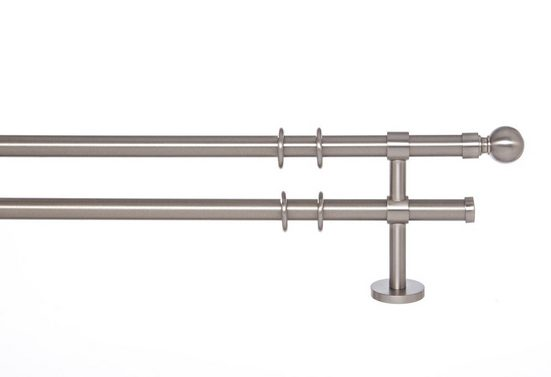 Gardinenstange »Sevilla 20«, indeko, Ø 20 mm, 2-läufig, Wunschmaßlänge