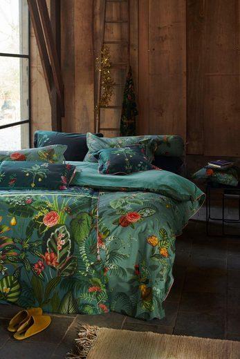 Wendebettwäsche »Floris«, PiP Studio, Mit tropischem Blüten- und Blättermuster