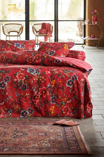 Wendebettwäsche »Floral Delight«, PiP Studio, Mit Blütenprint in kräftigen Farben