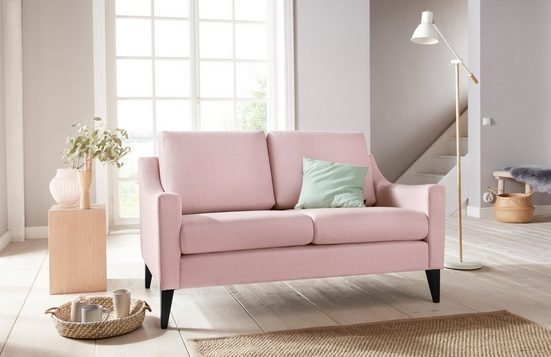 Home affaire 2-Sitzer »Flen«, mit Holzfüßen