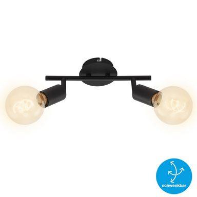 Briloner Leuchten LED Deckenspot »Bono«, 2-flammig, Deckenlampe mit dreh- und schwenkbaren Spots