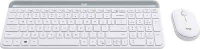 Logitech »Slim Wireless MK470« Tastatur- und Maus-Set