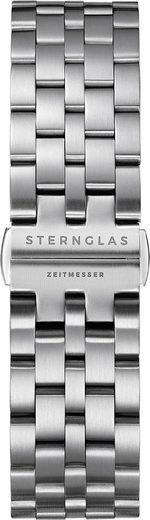 STERNGLAS Uhrenarmband »Metallband silber, SBA00/500«