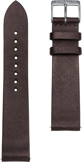 STERNGLAS Uhrenarmband »Vintage 20 mokka silber, SBA00/302«