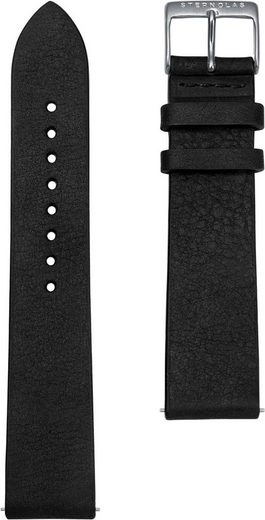 STERNGLAS Uhrenarmband »Vintage 20 nero silber, SBA00/300«