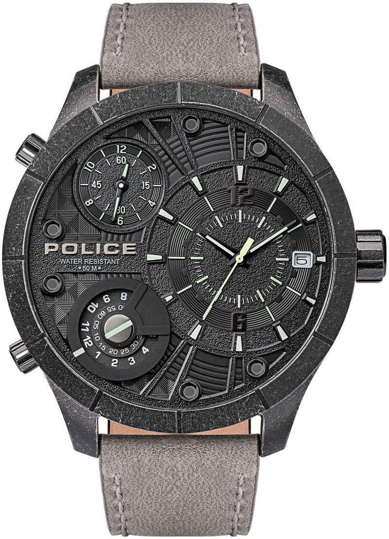 Police Quarzuhr »BUSHMASTER, PL15662XSQS.02«