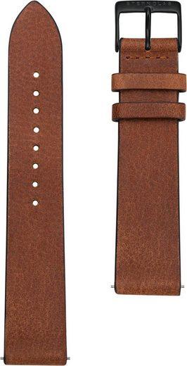 STERNGLAS Uhrenarmband »Vintage 20 mahagoni schwarz, SBA00/307«