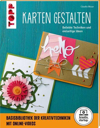 """TOPP Kreativ Buch """"Karten gestalten"""" 64 Seiten"""