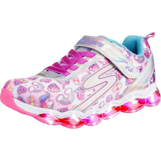 Skechers Sneakers low Blinkies GLIMMER LIGHTS SPARKLE DREAMS für Mädc