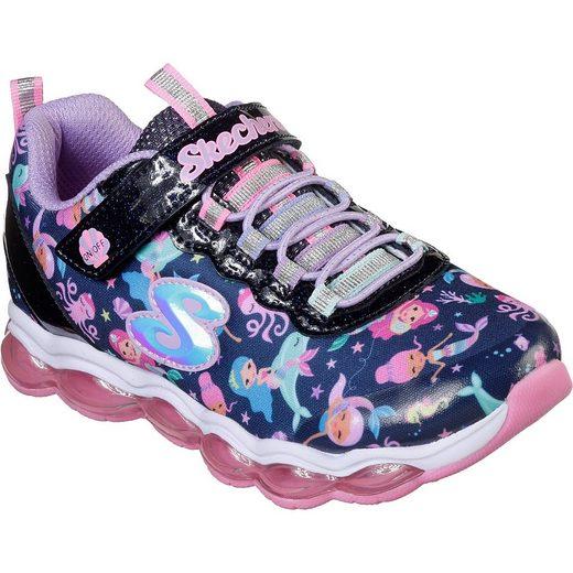 Skechers Sneakers low Blinkies GLIMMER LIGHTS SEA GLOW für Mädchen