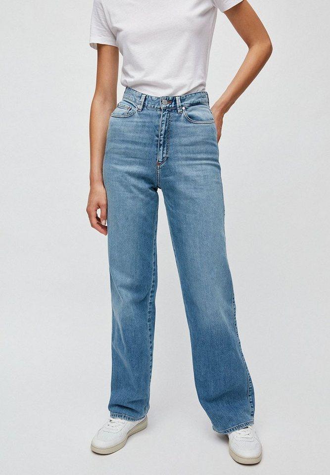 Armedangels Weite Jeans »NESSAA« GOTS, organic, CERES-08   Bekleidung > Jeans > Weite Jeans   Blau   Baumwolle   Armedangels