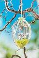Acryl-Eier mit Bohrung für Lichterketten, ca. Ø 14 cm, Bild 4