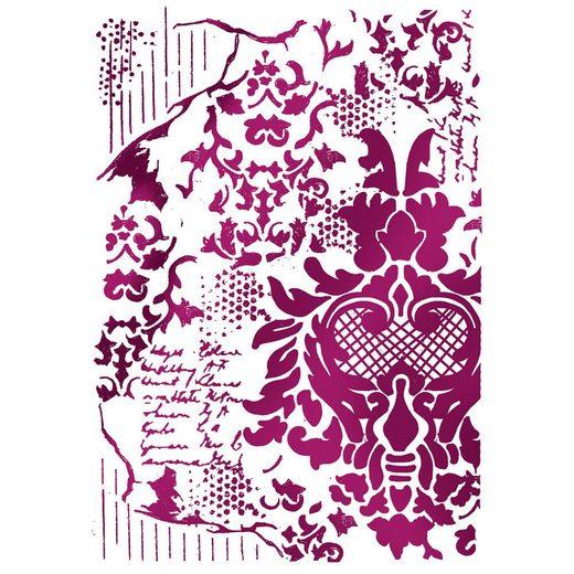 "Stamperia Mal-Schablone ""Floral"" DIN A4"