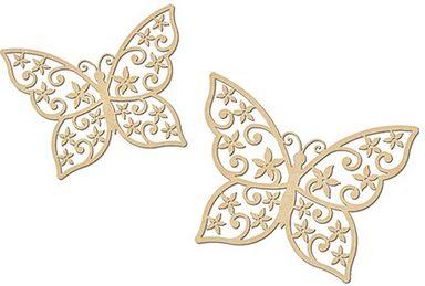 """Wanddekoration """"Schmetterlinge"""", 2er-Set"""