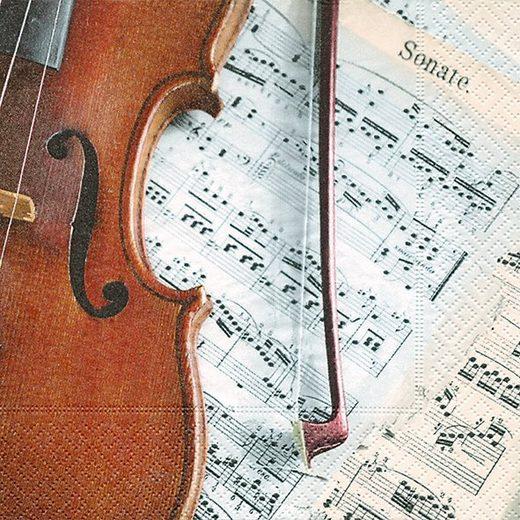 Serviette 'Sonate'