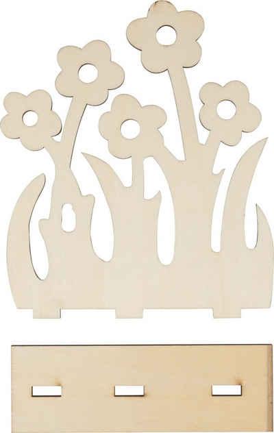 VBS Dekoobjekt »Standblume Flowerland«, 2 Teile