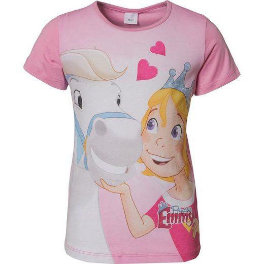 Prinzessin Emmy und ihre Pferde T-Shirt für Mädchen