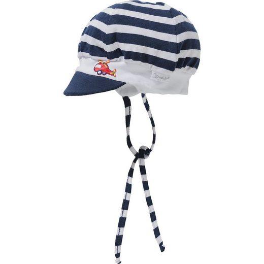 Sterntaler® Baby Schirmmütze zum Binden für Jungen