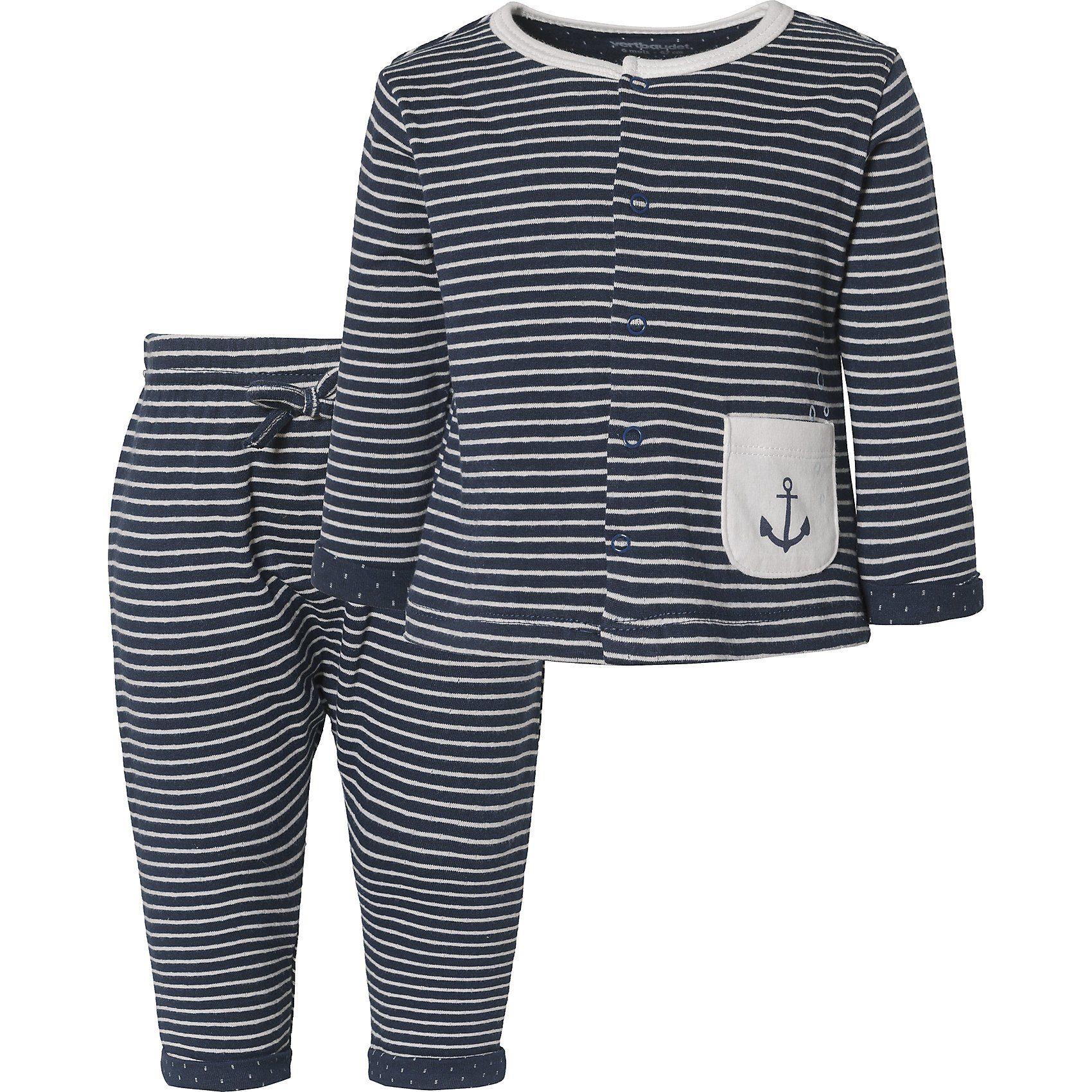 Vertbaudet Gestricktes Baby-Kleid mit Motiv