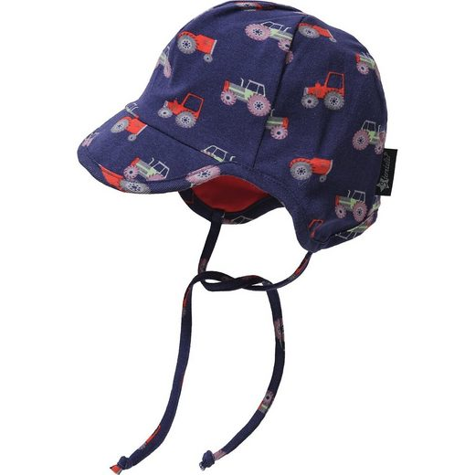 Sterntaler® Baby Schirmmütze mit UV-Schutz 50+ für Jungen, Traktor