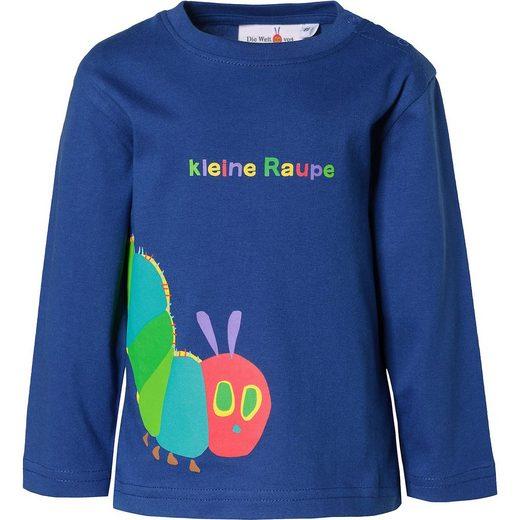 Raupe Nimmersatt Baby Langarmshirt