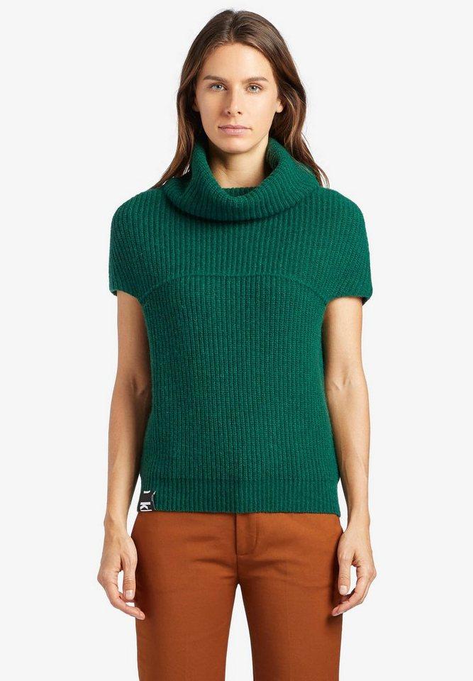 khujo Pullunder »FAYDA« mit lockerem Rollkragen | Bekleidung > Pullover > Pullunder | Grün | khujo