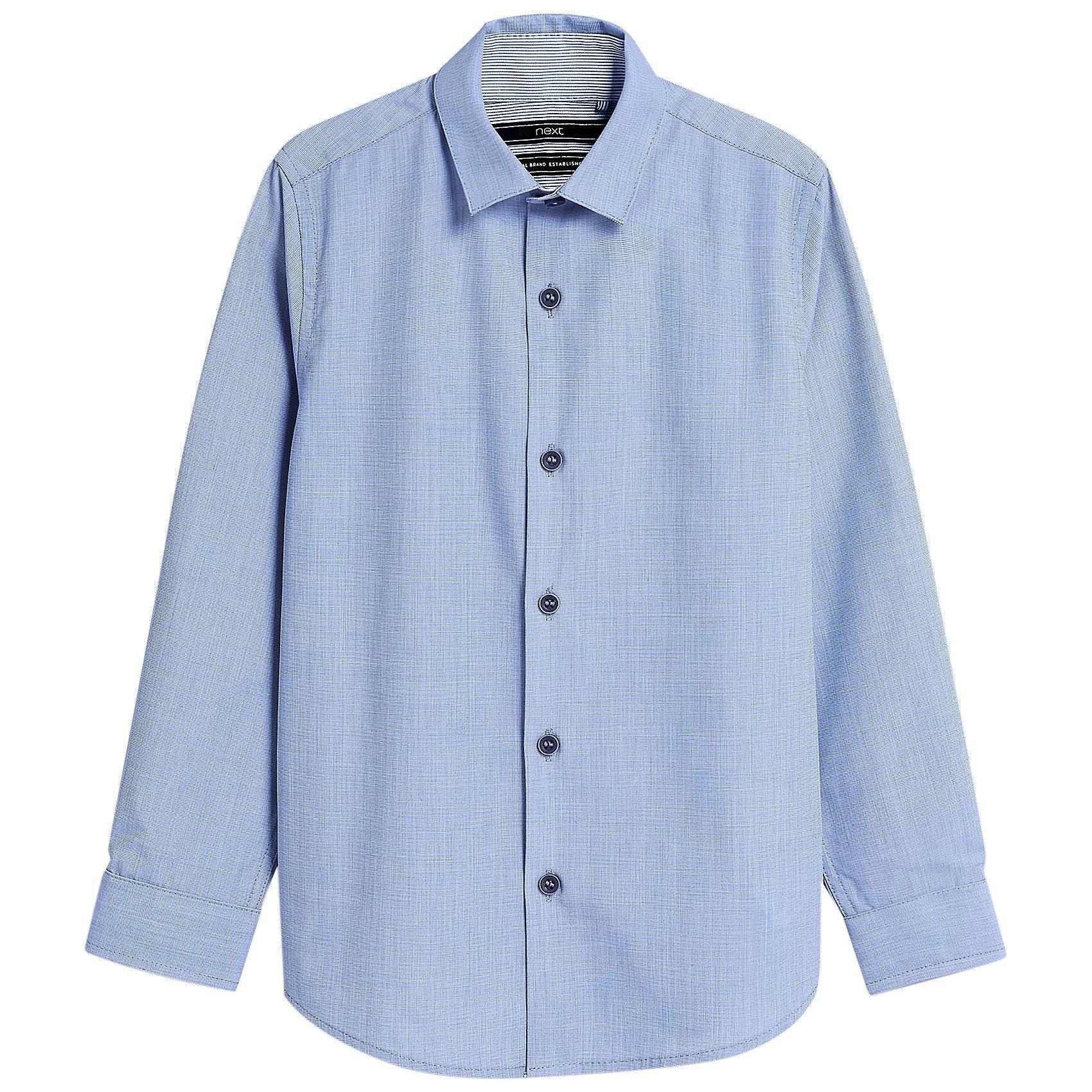 Herren,  Kinder Next Kinder Langarmhemd blau   05057979833806, 05059109011832