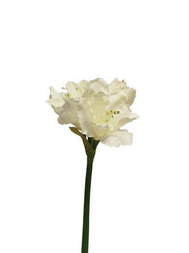 """Kunstblume """"Amaryllis Einzelstiel Aline"""" 64 cm lang"""