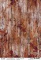 "Ciao Bella Motiv-Strohseide ""Old Time Wood"" 30 cm x 21,5 cm, Bild 1"
