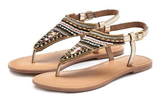 LASCANA Sandale mit raffinierter Verzierung