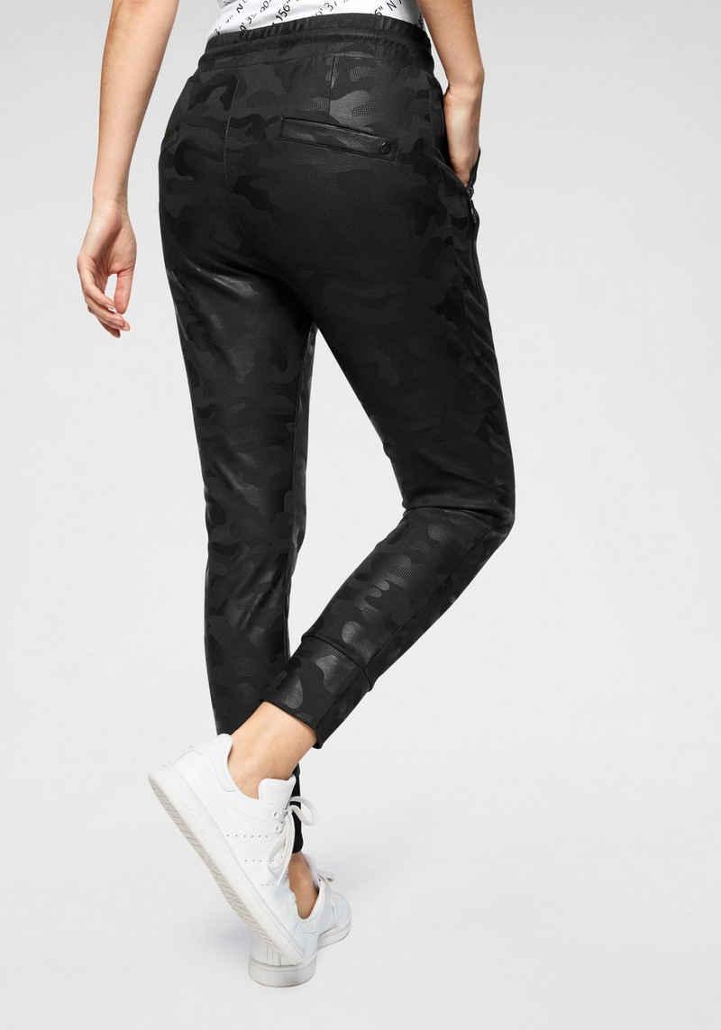 Zhrill Jogger Pants »FABIA« elegante Jogginghose in coolen Designs mit Zippertaschen & Gummizug