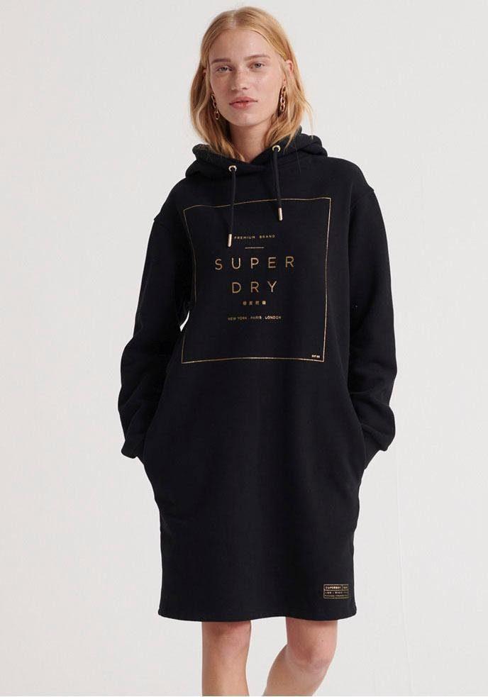 Superdry Damen Leichtes Sweatkleid