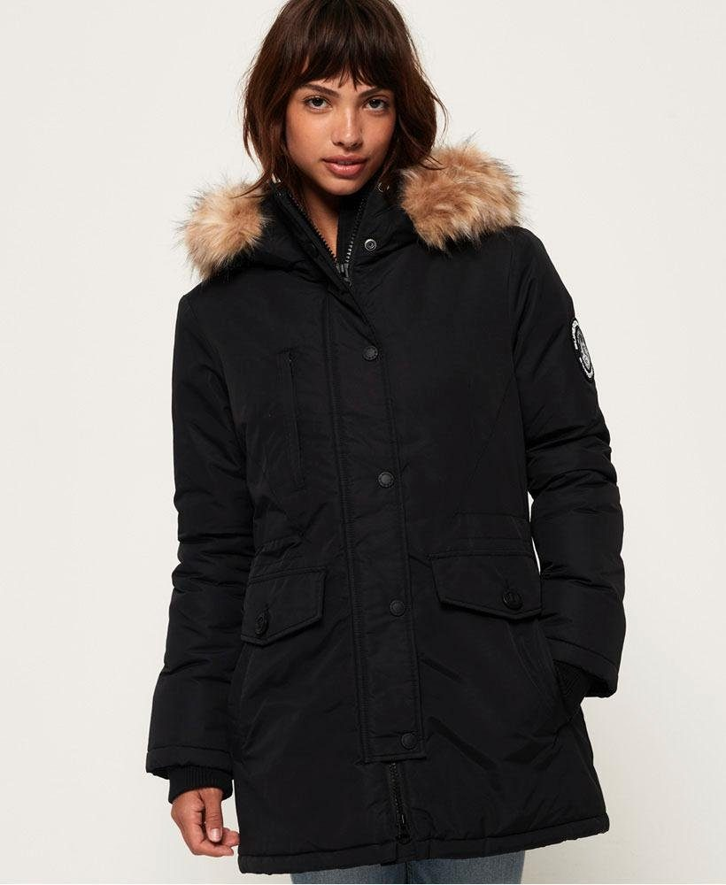 Superdry Ashley Everest Jacke Oberbekleidung schwarz