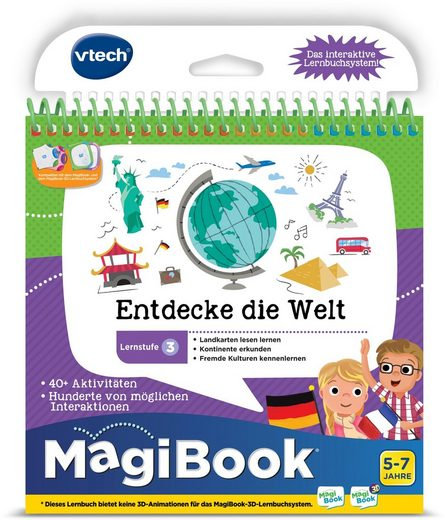 Vtech® Buch »MagiBook Lernstufe 3 - Entdecke die Welt«