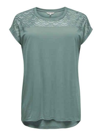 48//50 blau mit Aufdruck Sheego Shirt Langarm Gr 946