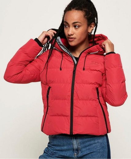 Superdry Steppjacke »SPIRIT PUFFER ICON JACKET« mit reflektierenden Highlights