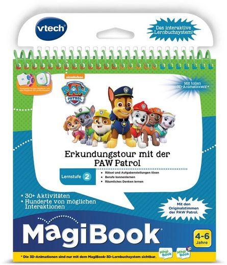 Vtech® Buch »MagiBook Lernstufe 2 - Erkundungtour mit der PAW Patrol«