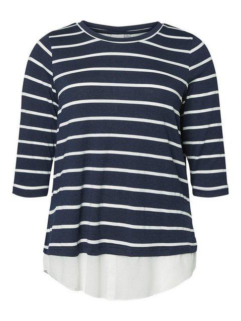 Junarose 2-in-1-Pullover mit Bluseneinsatz | Bekleidung > Pullover > 2-in-1 Pullover | Junarose