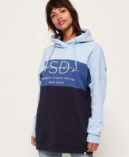 Superdry Kapuzensweatshirt »LINNEA COLOUR BLOCK HOOD« im modischen Colorblocking-Design